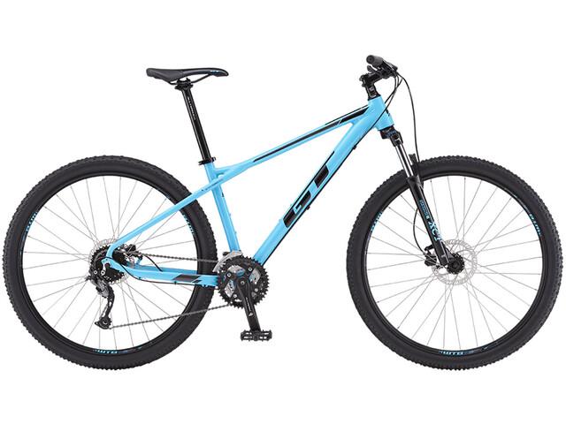 "GT Bicycles Avalanche Sport 29"" gloss aqua blue/black/dark silver"